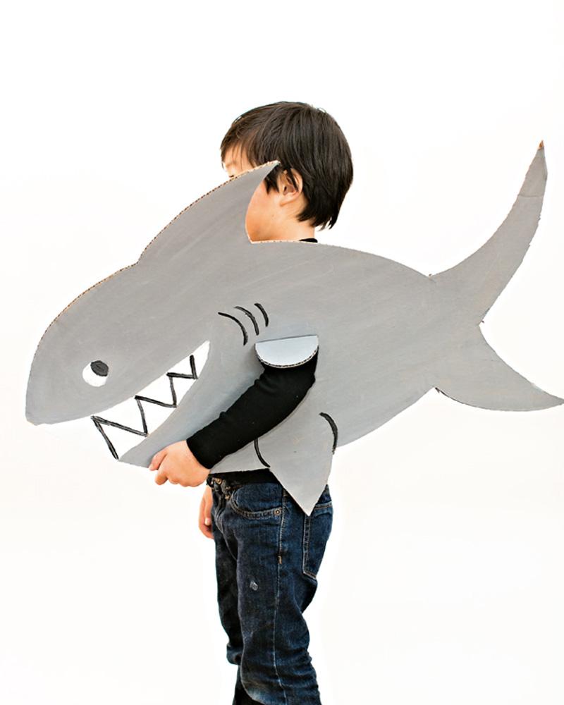 déguisement carnaval diy requin