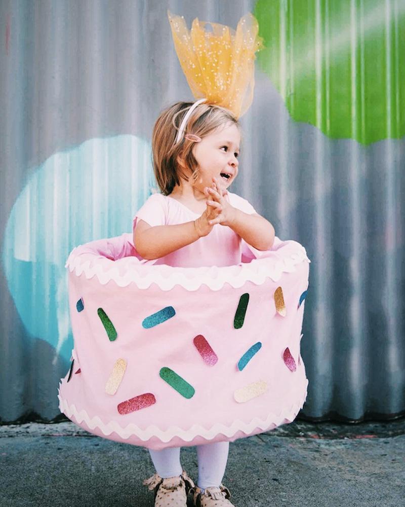 déguisement carnaval diy gâteau