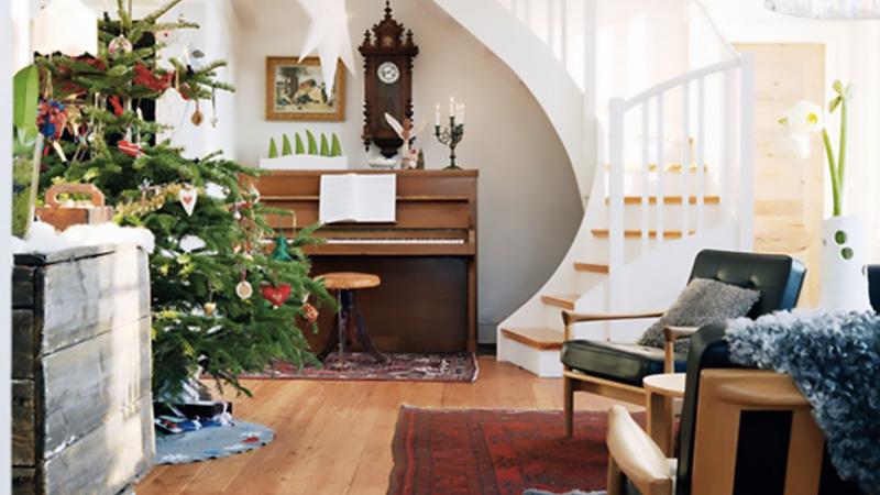 deco maison suédoise noel