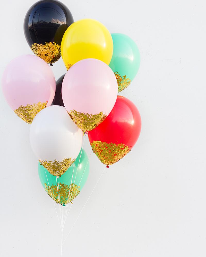 diy ballon paillette