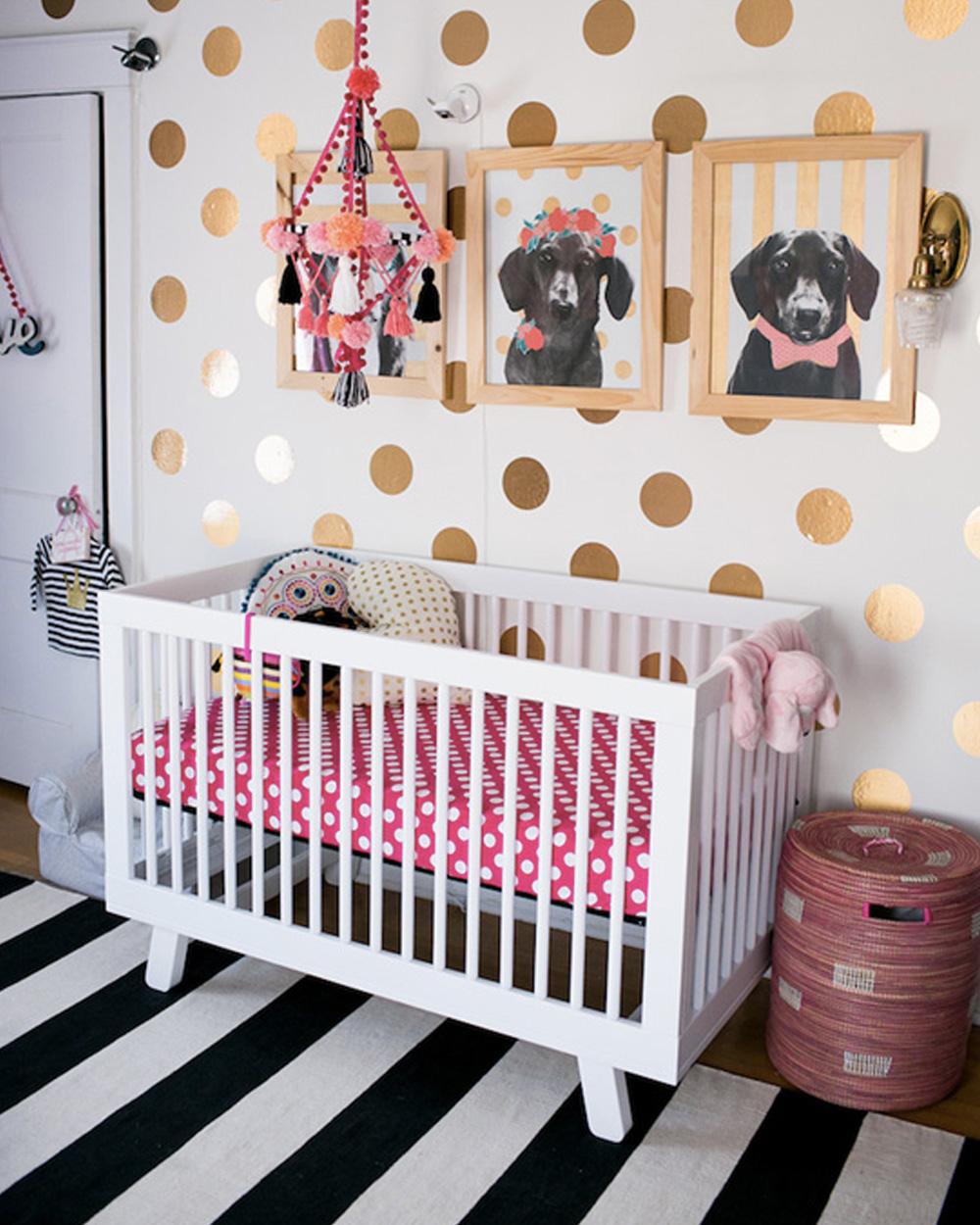 Deco Chambre Bebe Fille une jolie chambre de fille en bleu et rose | shake my blog