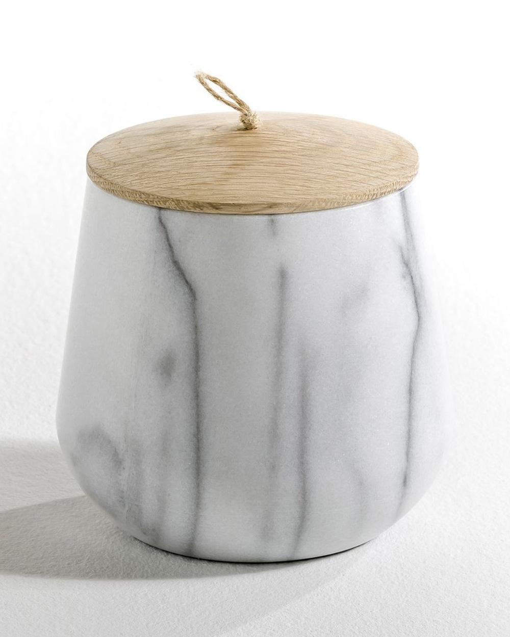 pot marbre bois