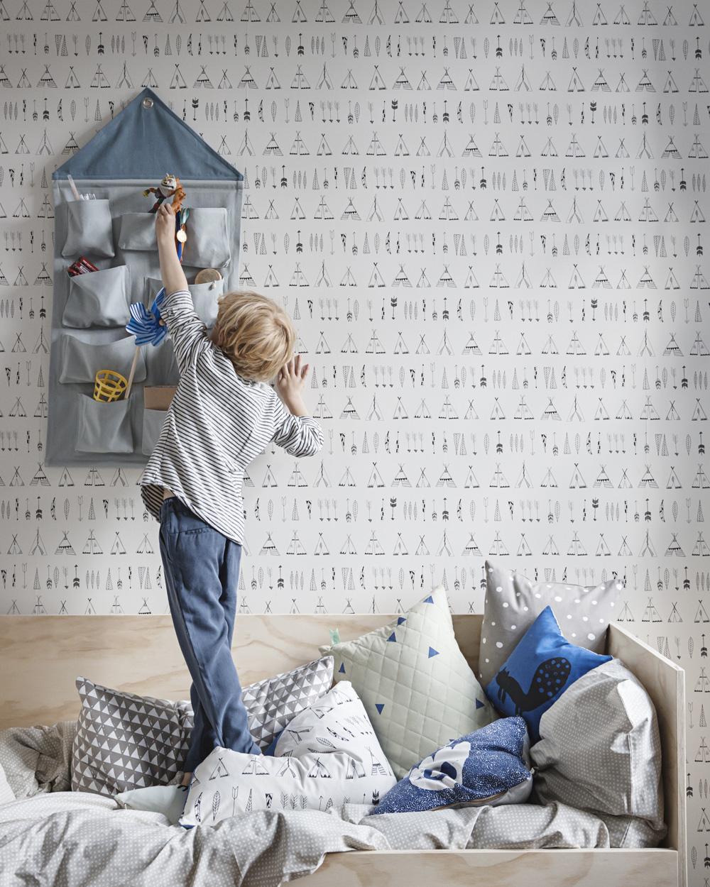 deco papier peint enfant
