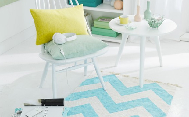 tapis chevron diy