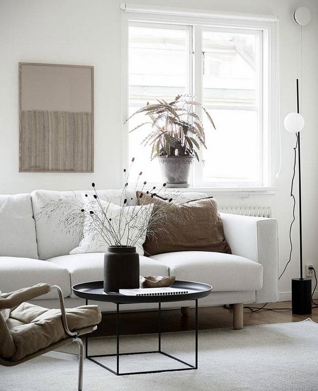 deco salon blanc beige moderne