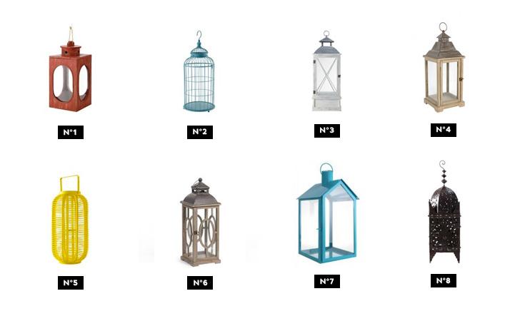 selection deco lanterne jardin