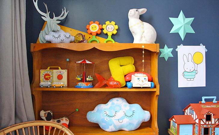 deco chambre enfant vintage