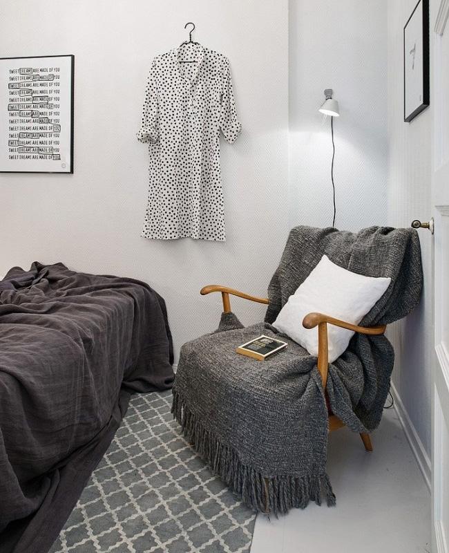 deco vintage scandinave chambre