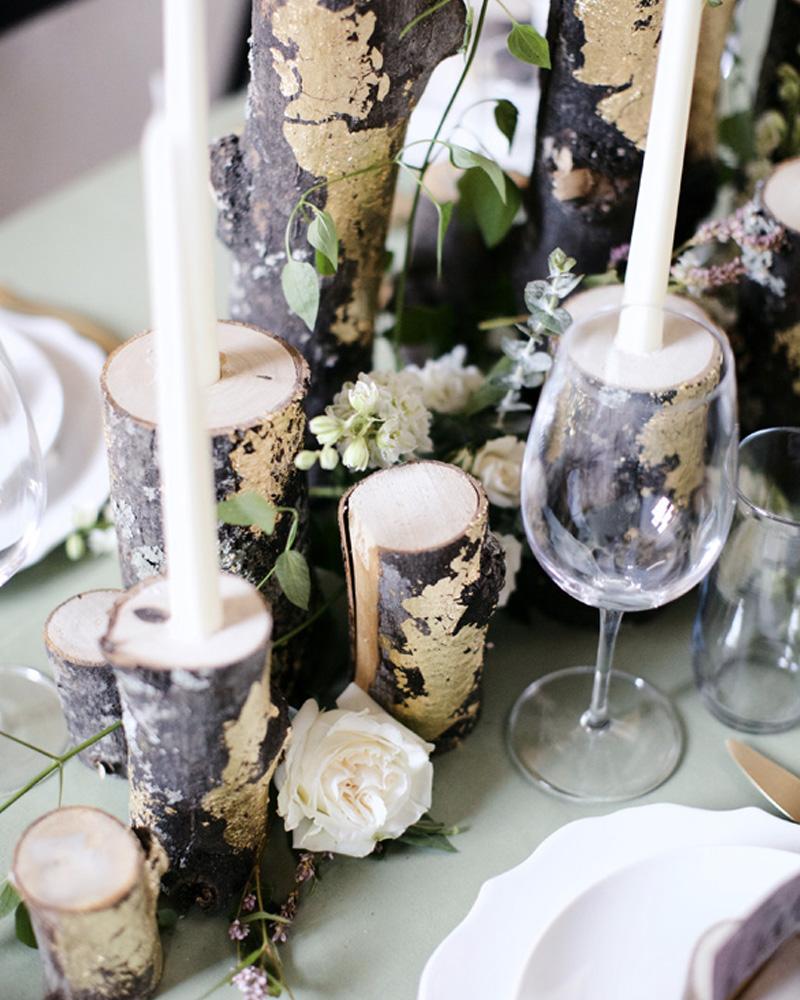 centre table mariage diy bois