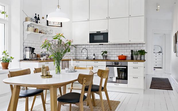 cuisine deco scandinave