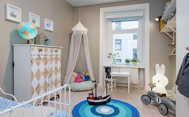 deco chambre enfant scandinave