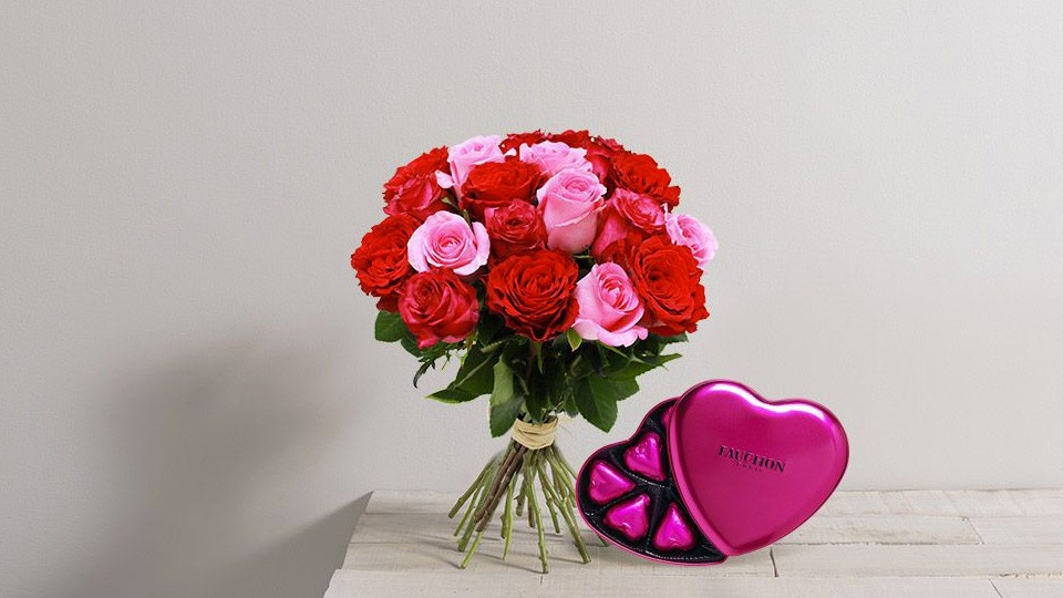 interflora bouquet saint valentin