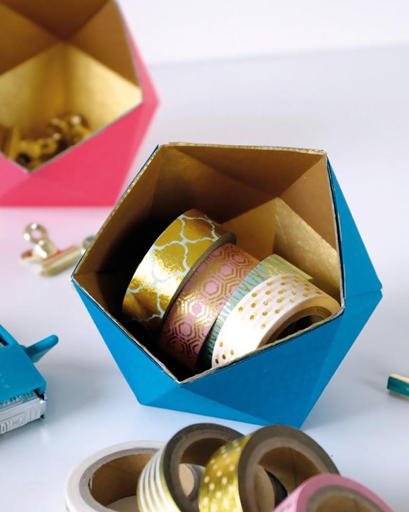 vide poche diy boite origami