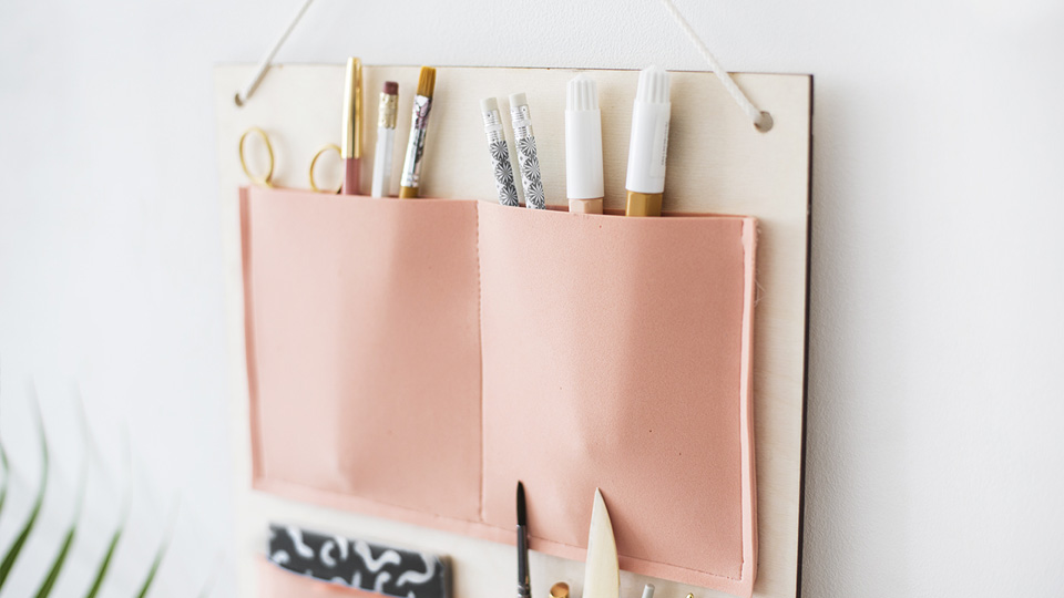 diy organiseur rentree