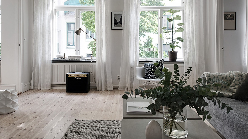 deco scandinave douce contemporaine