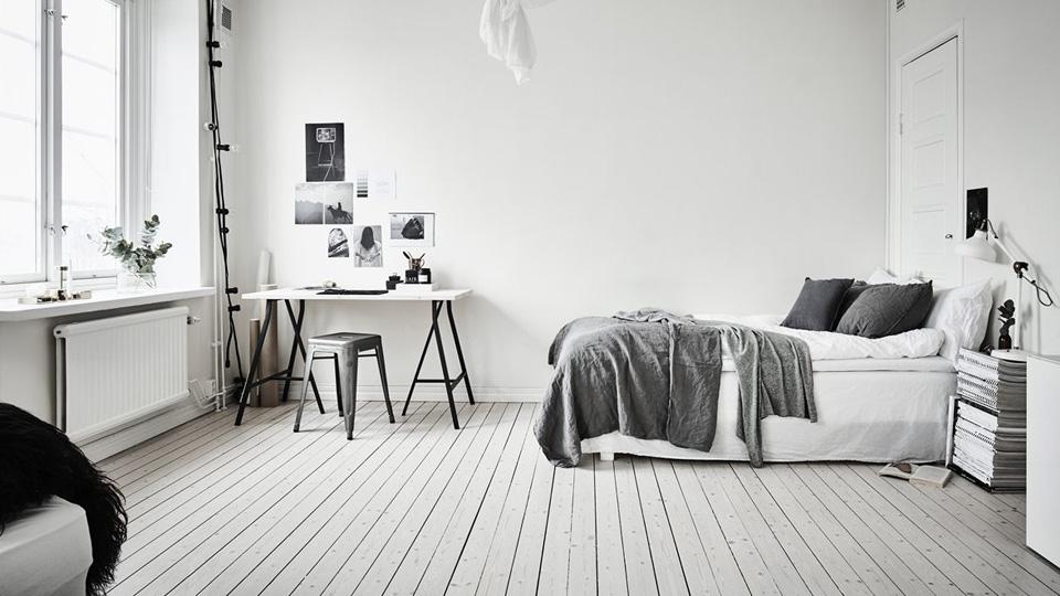 deco studio noir blanc