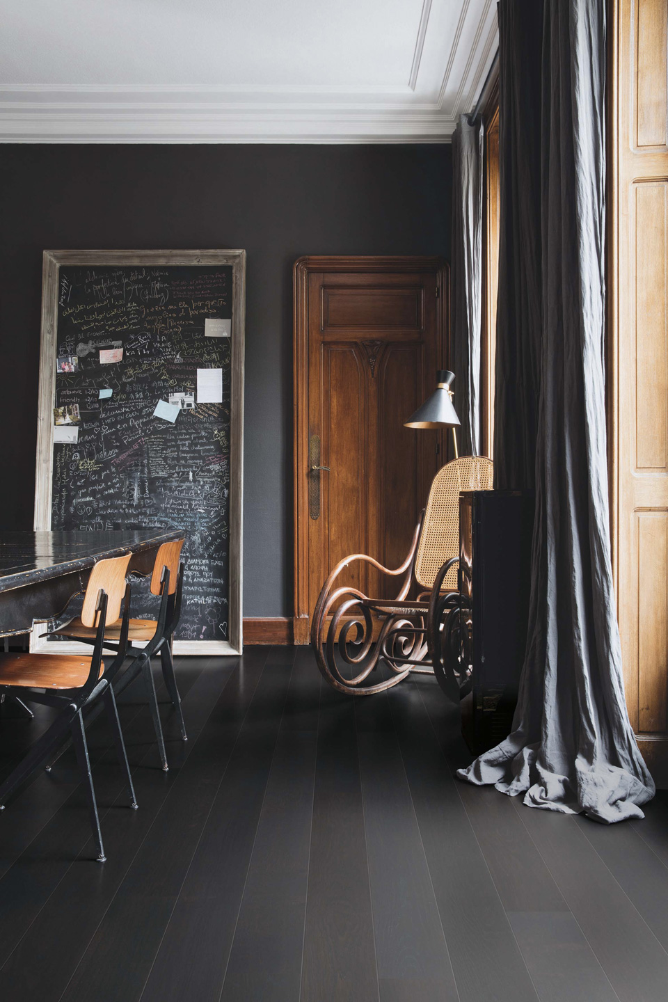 tendance deco dark night