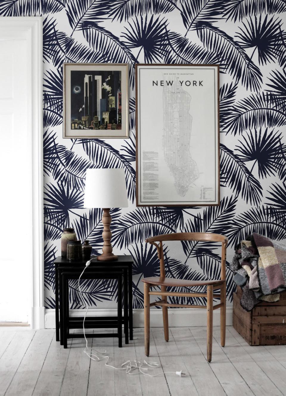 Le Papier Peint Tropical Pour Decorer Votre Interieur Shake My Blog