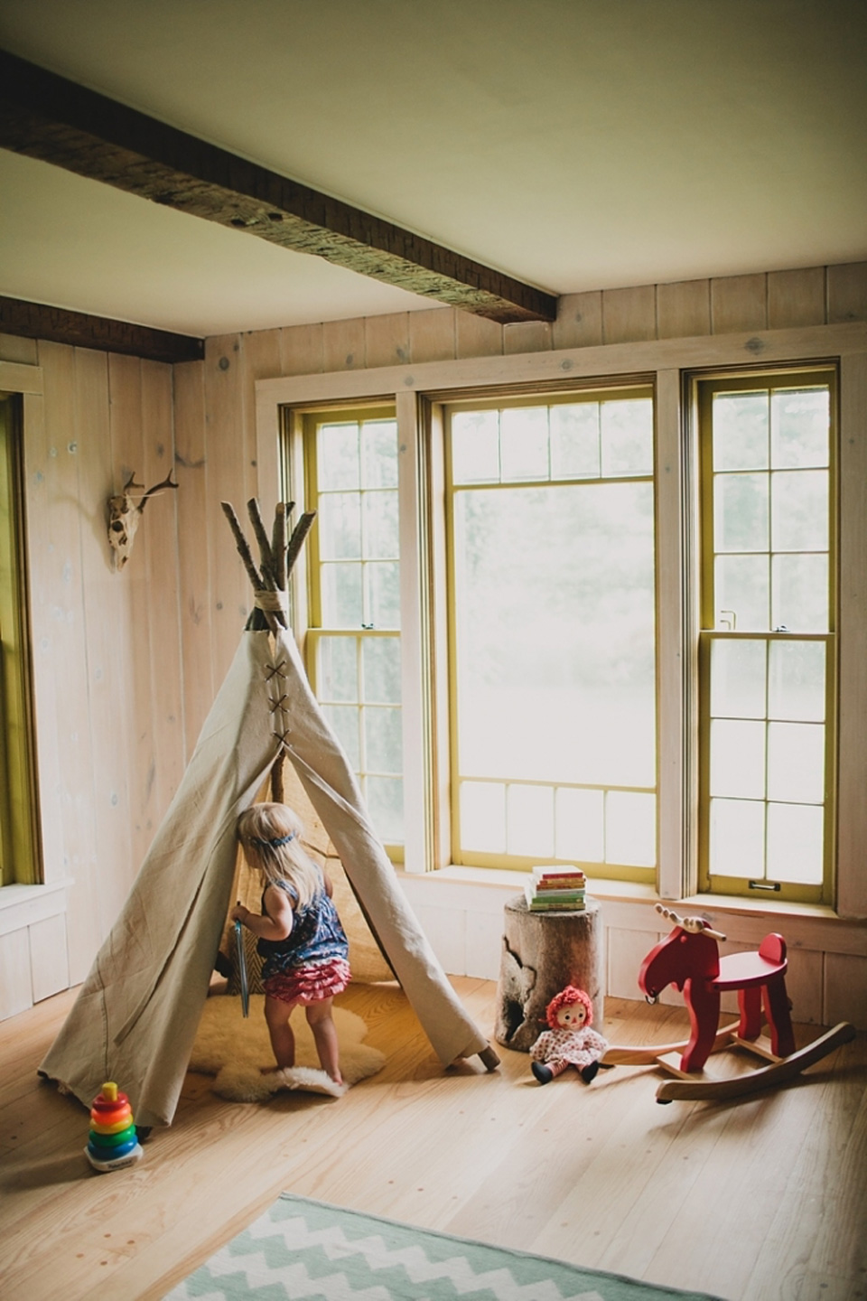 tipi branches diy