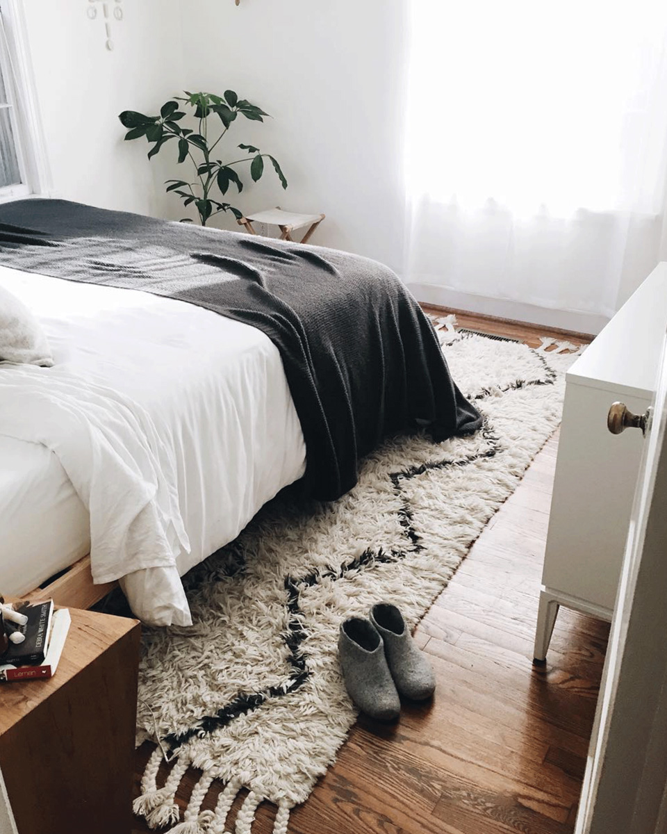 tapis deco chambre
