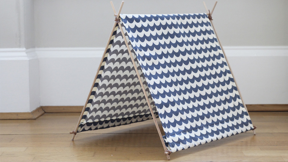 tente tipi diy chat