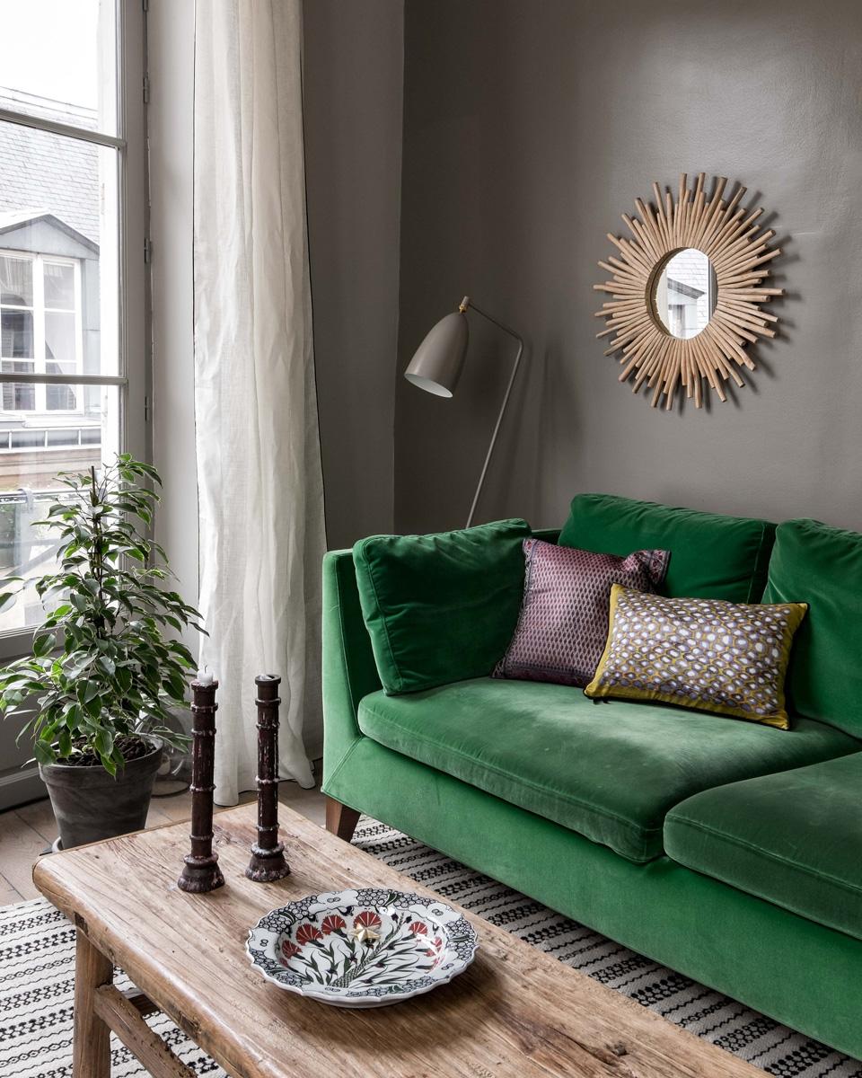 La Décoration De Salon le vert, tendance déco du moment | shake my blog