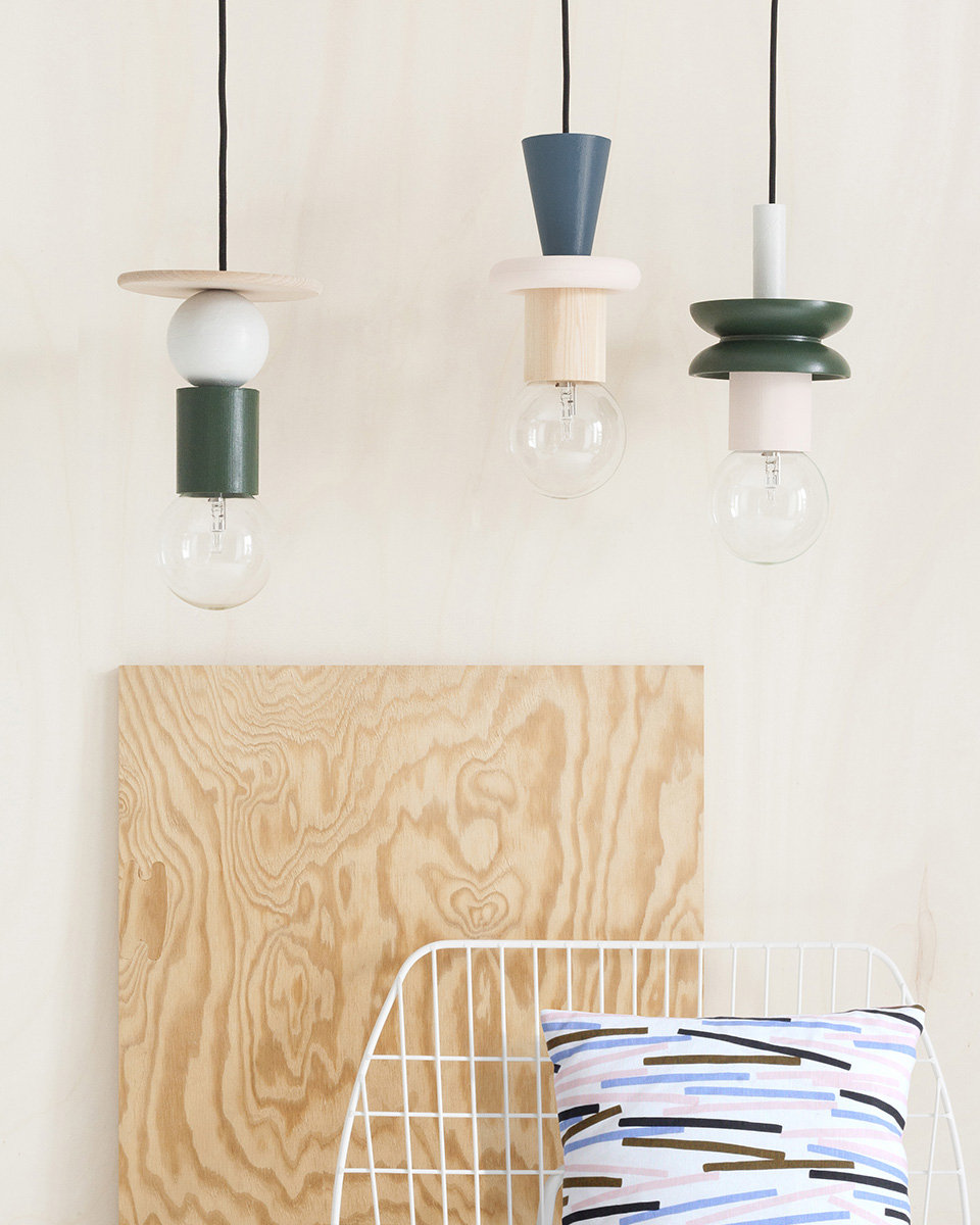 lampe diy suspension