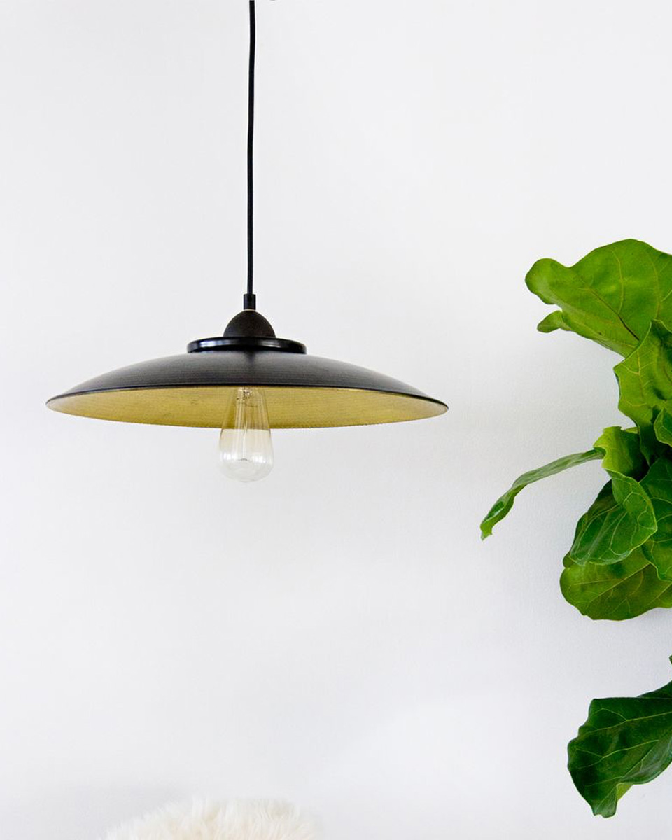 lampe diy suspension metal
