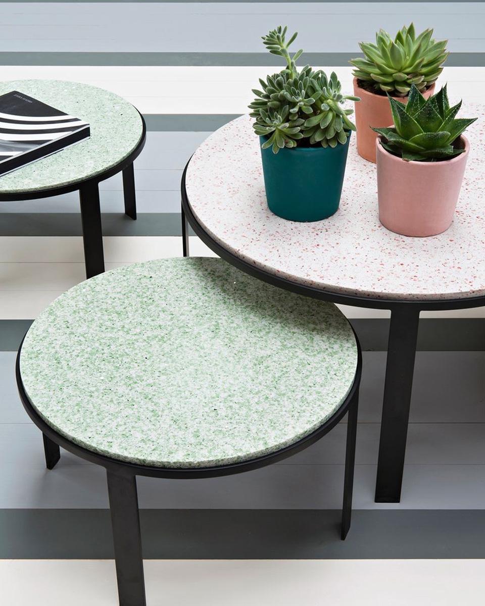 terrazzo table basse