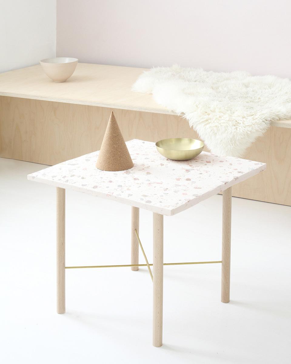 diy terrazzo table