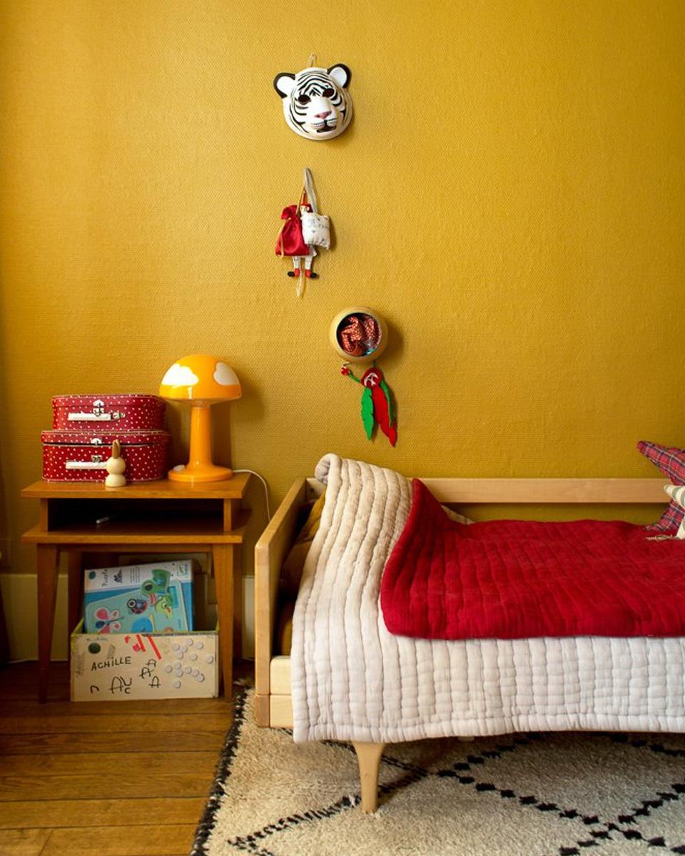 deco jaune chambre enfant
