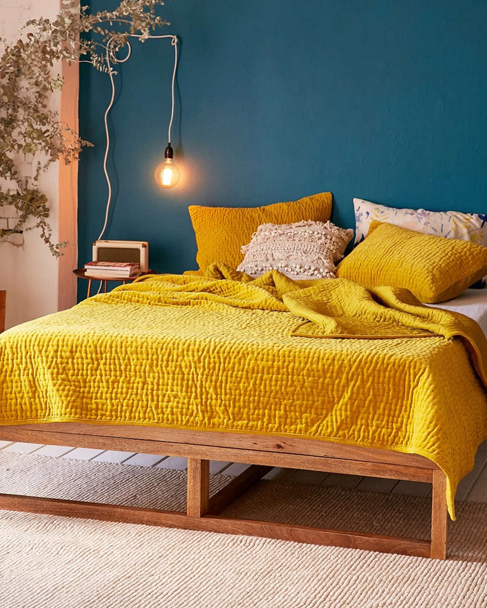 deco jaune chambre