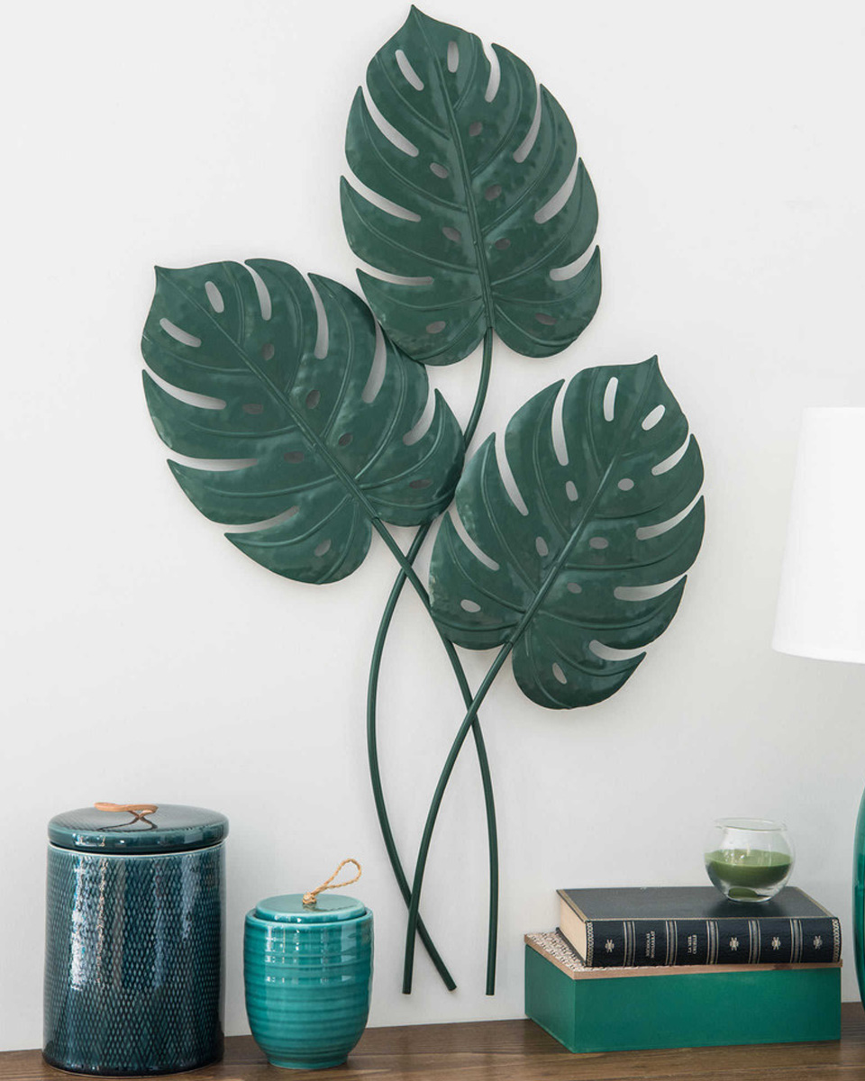deco plante monstera mur