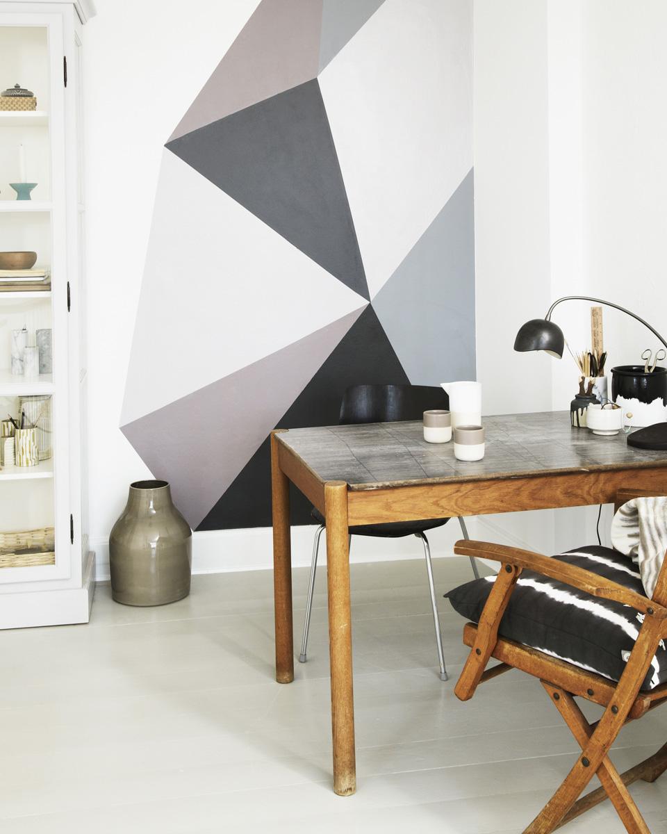 idée deco mur peinture