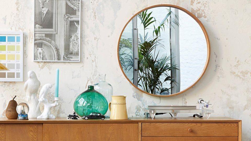 miroir rond deco