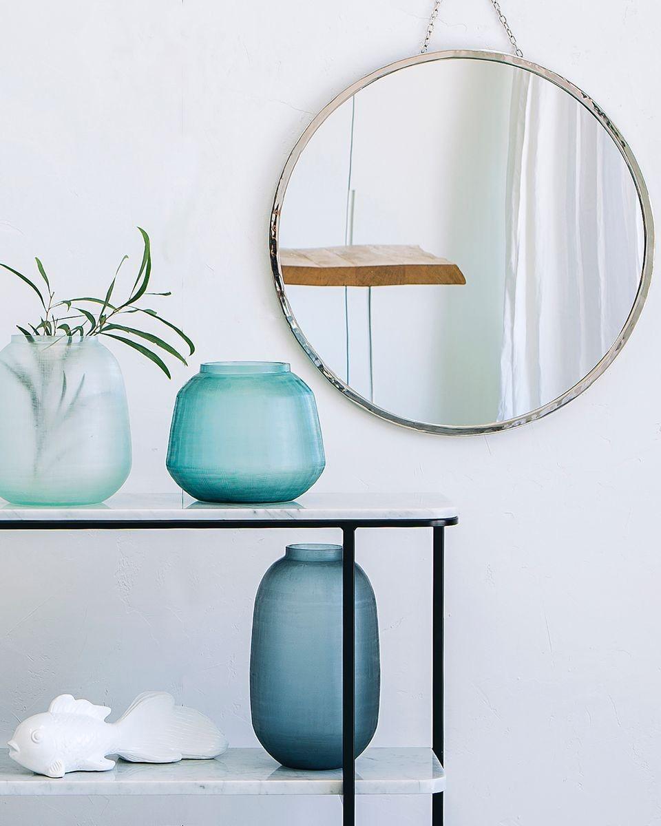 miroir rond deco metal