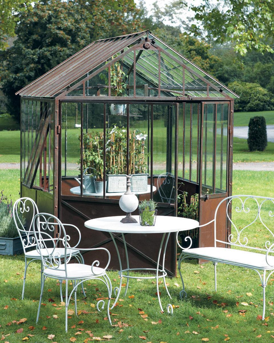 table jardin metal