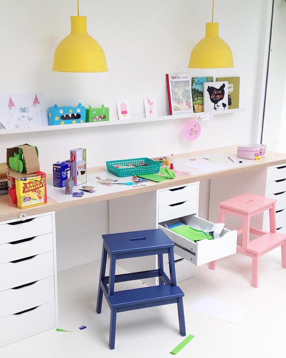 10 idées déco pour un bureau d\'enfant | Shake My Blog