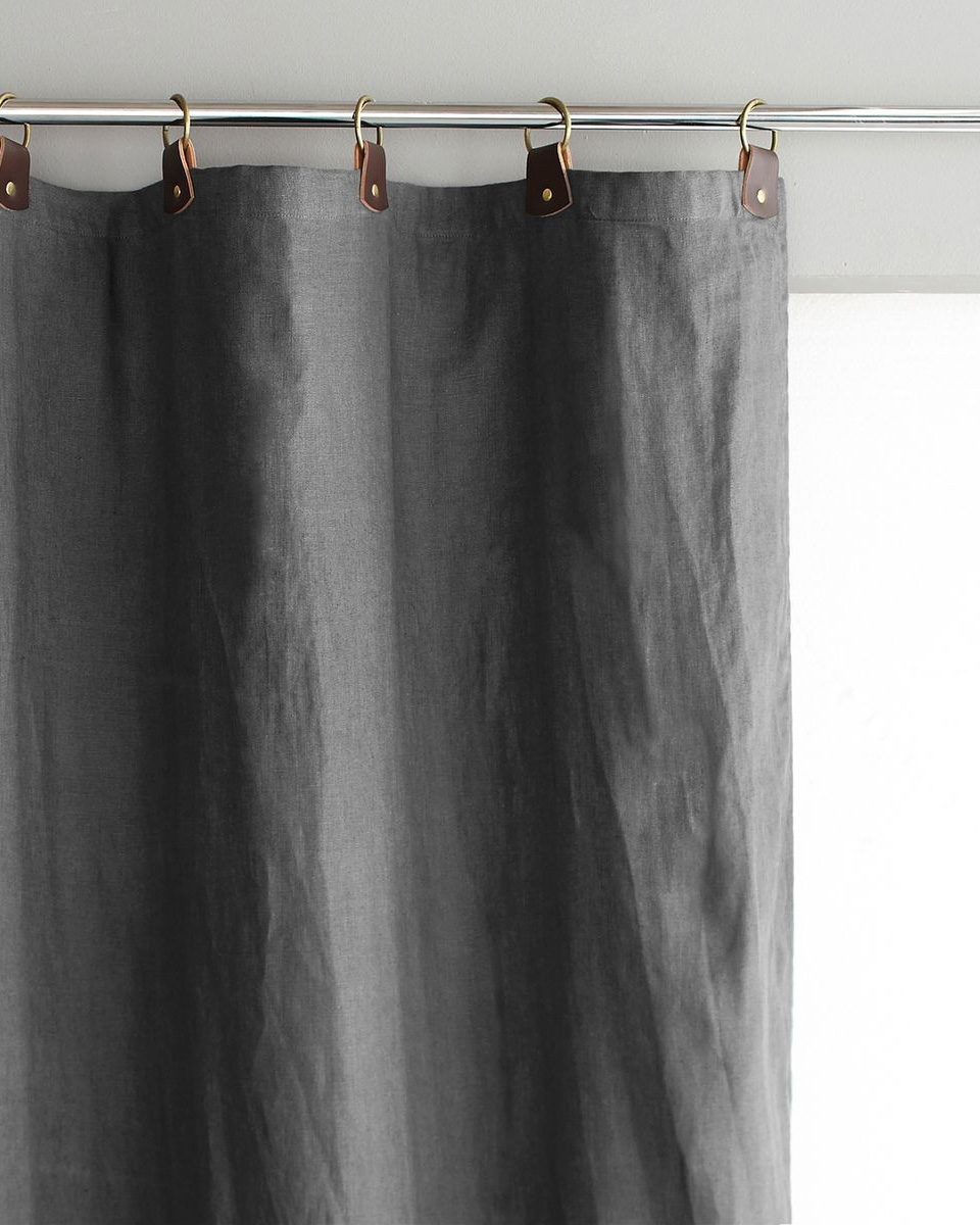 deco gris rideau