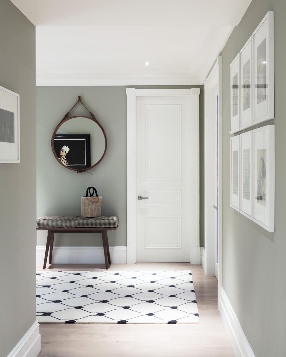 deco gris couloir
