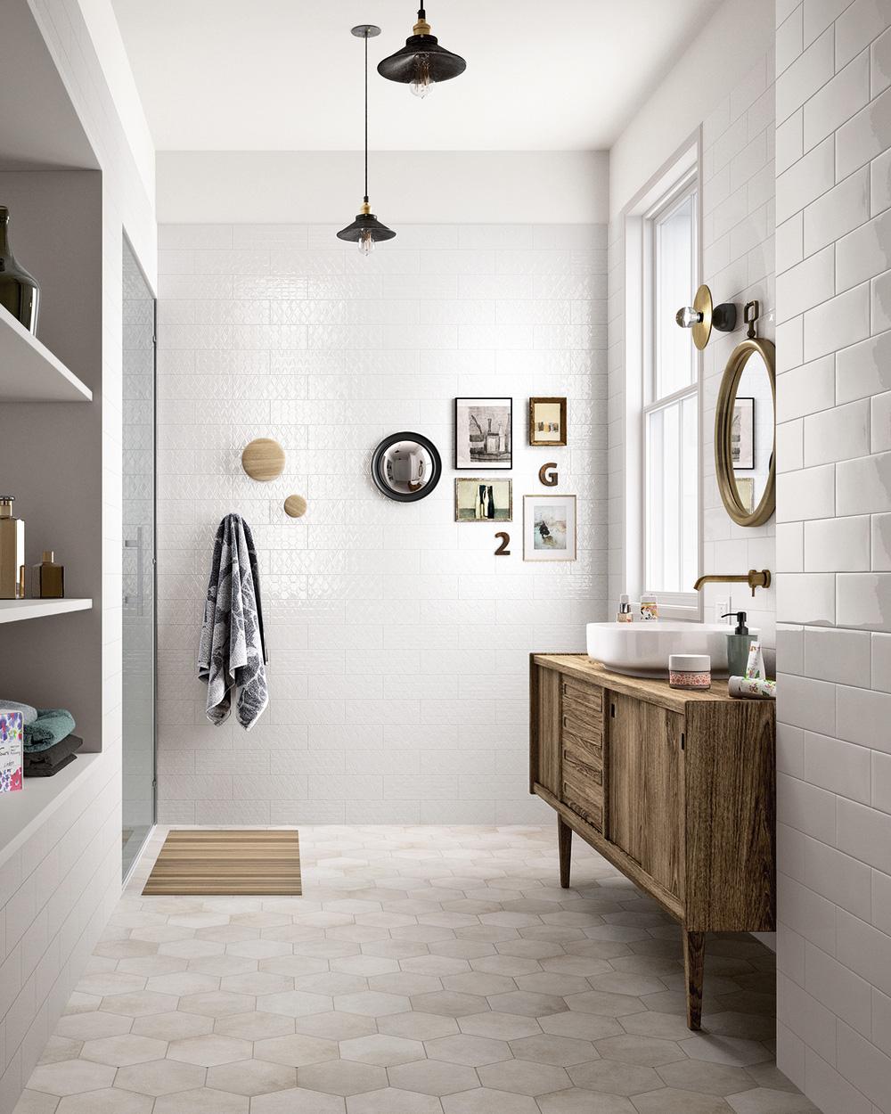 deco salle de bain meuble vasque scandinave