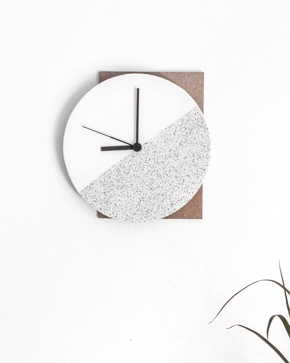 Horloge De Bureau Originale 6 idées diy pour créer une horloge | shake my blog