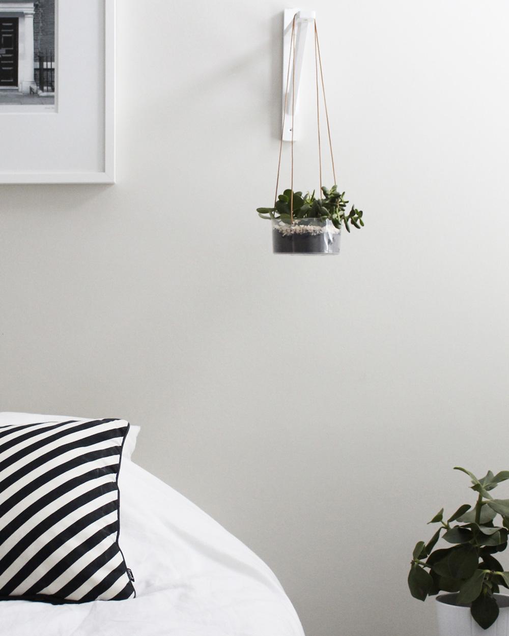 suspension plante diy terrarium suspendu