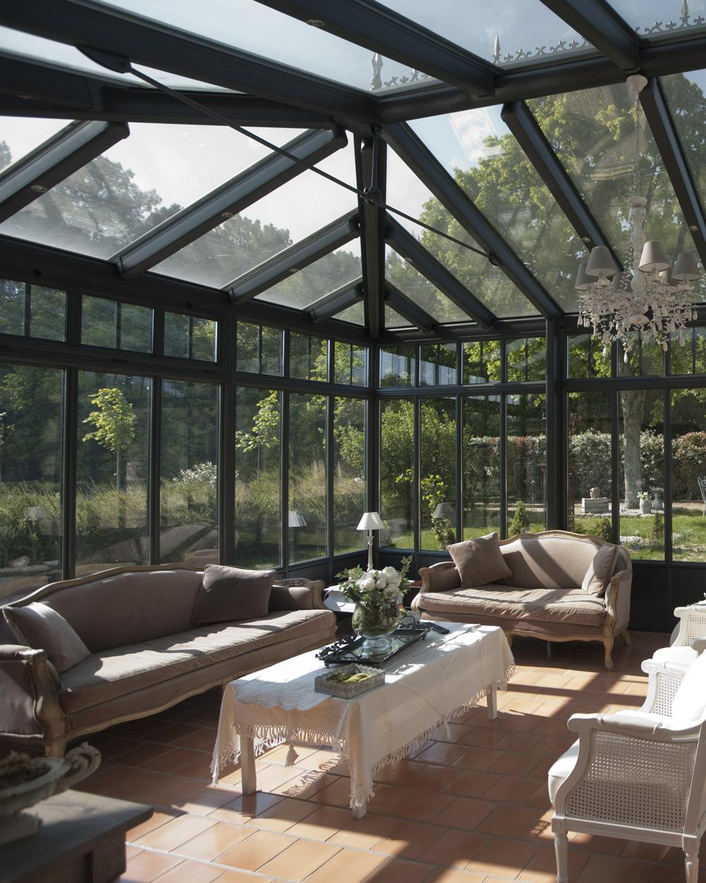 veranda alu salon