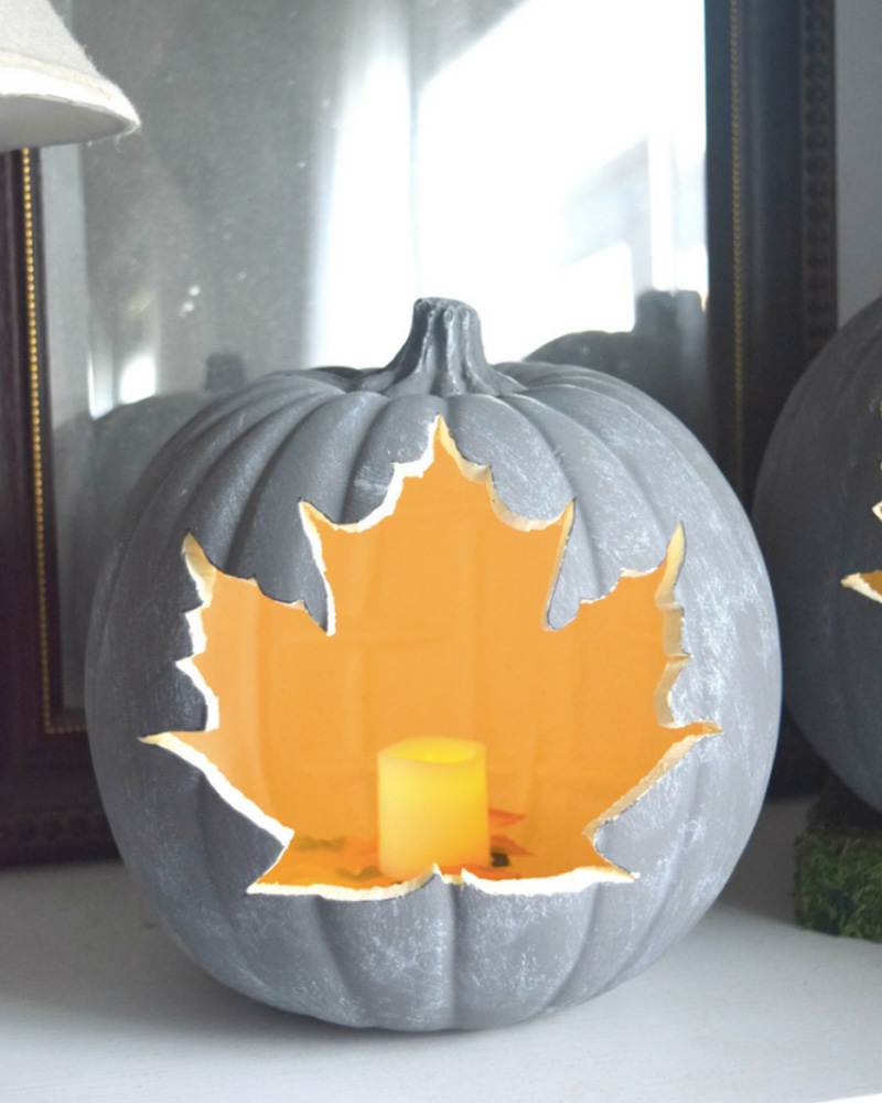 citrouille halloween diy lanterne