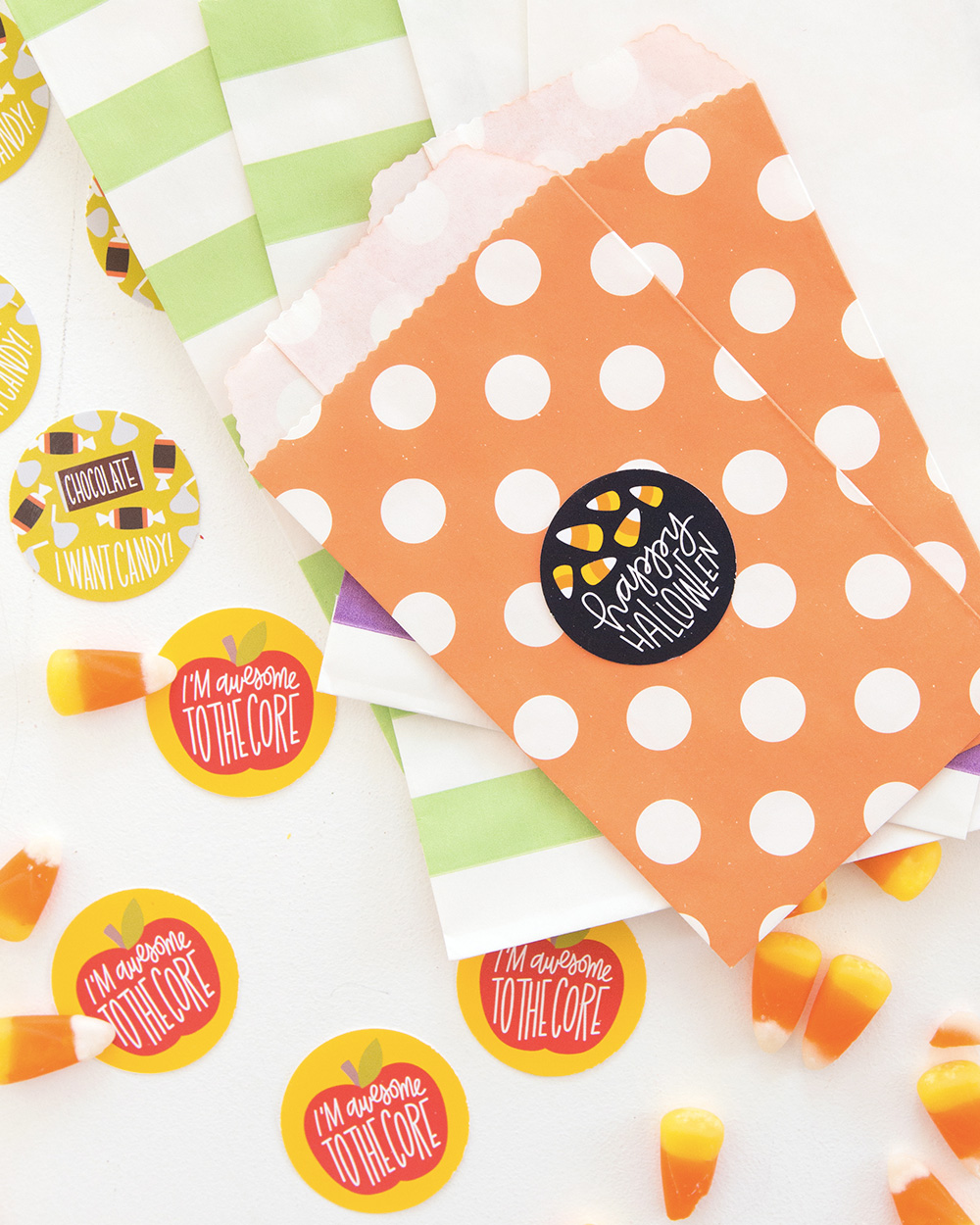 printable diy halloween sticker
