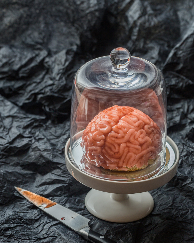 recette halloween cervelle fraise