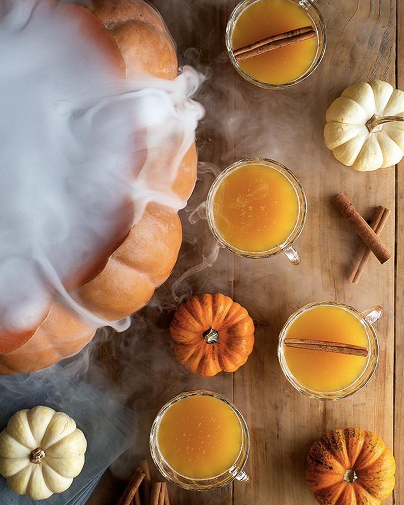 recette halloween punch citrouille