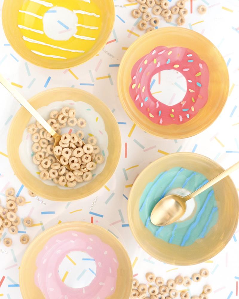 bol diy céramique donnut
