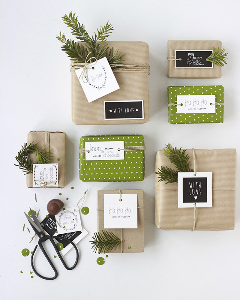 carte noel diy a imprimer cadeau